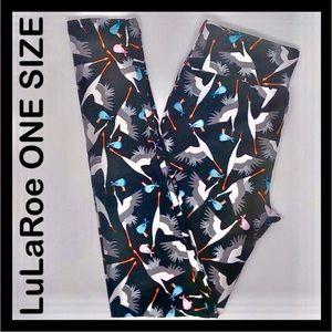 STORK LuLaRoe OS Leggings UNICORN One Size 2-10